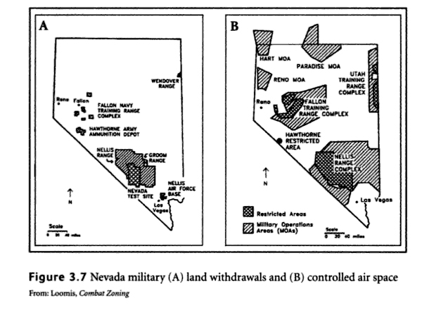 military in Nevada desert