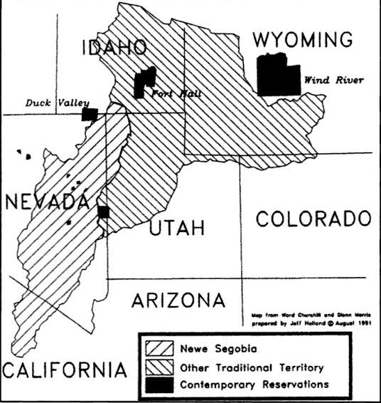 shoshone territory