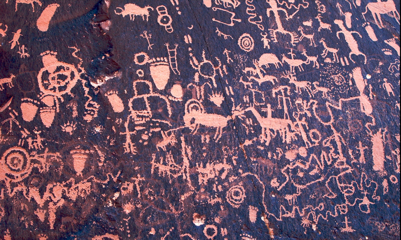 Petroglyphs Newspaper Rock