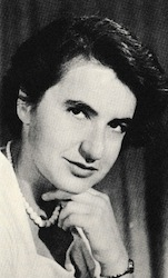 "Figure 10. Rosalyn Franklin, whose X-ray crystallography work provided the final clue Watson and Crick needed to complete their model of DNA structure. Watson admitted in his book ""The Double Helix"" that Franklin's data were stolen by her lab supervisor and given to Watson and Crick without her knowledge (ref. 13)."